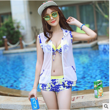 Fission three one-piece swimsuit bi..