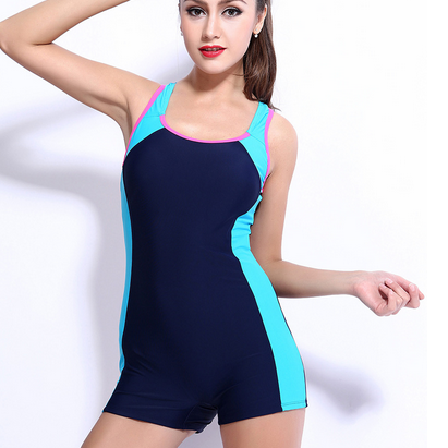 Ms conjoined boxer swim swimsuit sp..