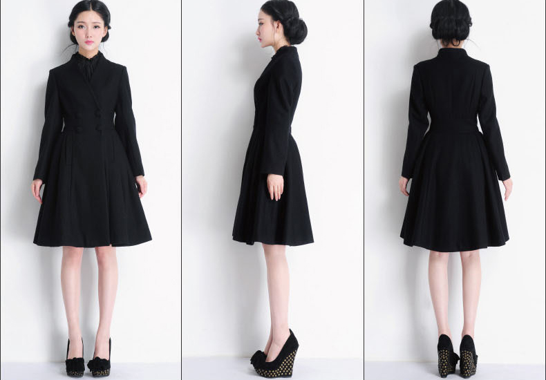 Dress With Long Coat