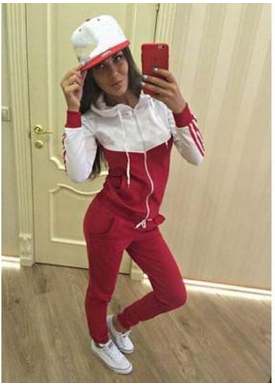 The new fashion sportswear joining together cultivate one's morality zip fleece suits ZBY