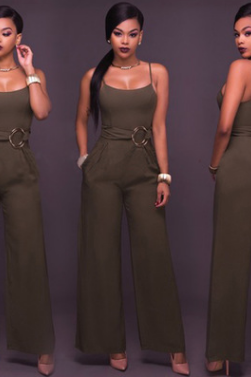 Autumn leisure jumpsuit sexy jumpsuit