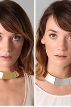 Fashion metal collar SF