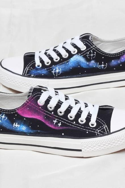 Harajuku Sky Canvas Shoes