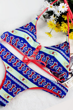 Digital printing swimwear swimsuit YFY