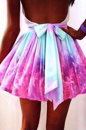 Galaxies Skirt