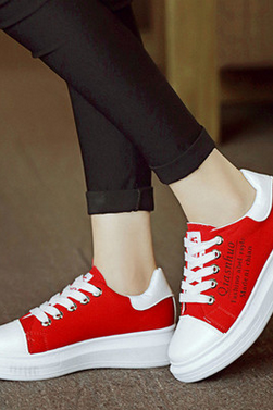 Low canvas shoes help heighten students leisure shallow mouths single shoes